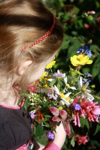 Children of all ages love to pick flowers