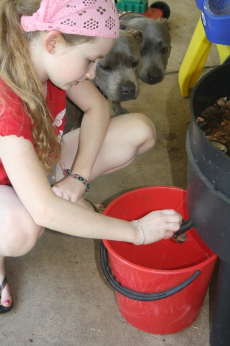 Worms are always a big hit with kids