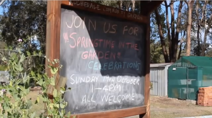 Link to Rochedale Community Garden video