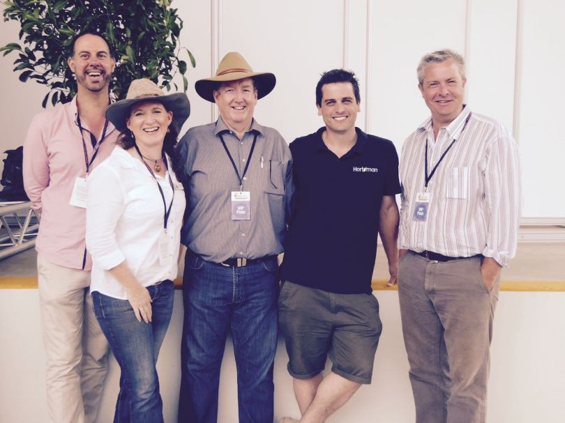 Hort media members attended from three different states.
