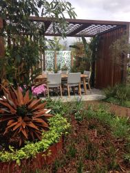 The winning landscape garden from A&R Evergreen Brisbane.